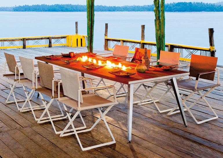 Outdoor Küche Dachterrasse : Meiser living outdoor: exklusive wohnideen für draußen