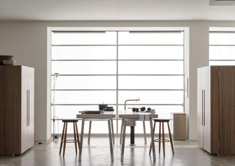 meiser living gro e auswahl exklusiver k chen von bulthaup. Black Bedroom Furniture Sets. Home Design Ideas