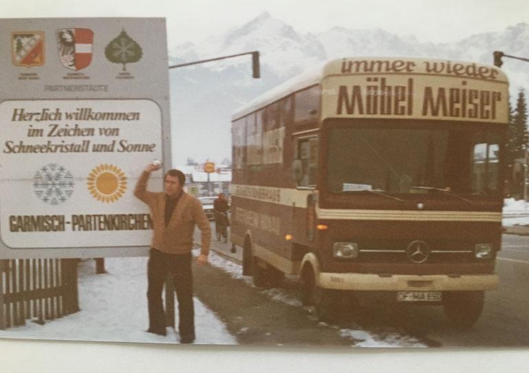 Ferienwohnung Garmischpatenkirchen 1976