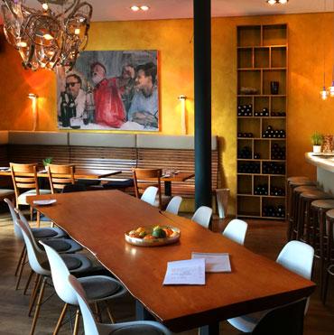 Sinkas Küche Restaurant Innenansicht