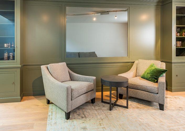 Gemütliche Sessel im Möbelhaus Meiser