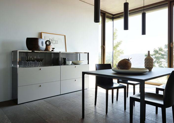 meiser living exklusive sideboards und schr nke von piure. Black Bedroom Furniture Sets. Home Design Ideas