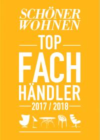 SCHÖNER WOHNEN Top-Fachhändler 2017/2018