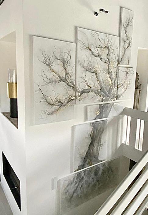 Anja Henneken - Baum Collage